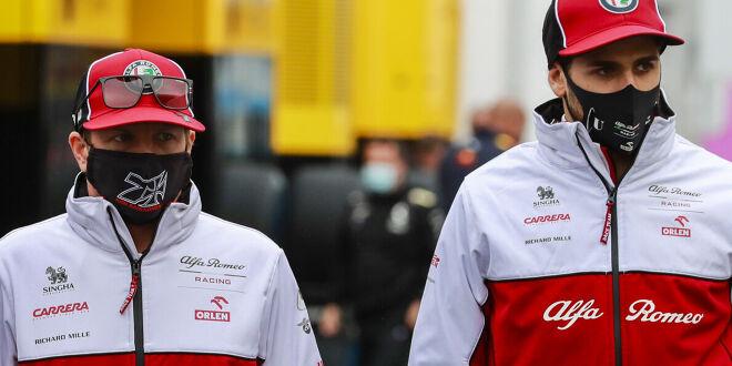 Räikkönen & Giovinazzi bleiben!
