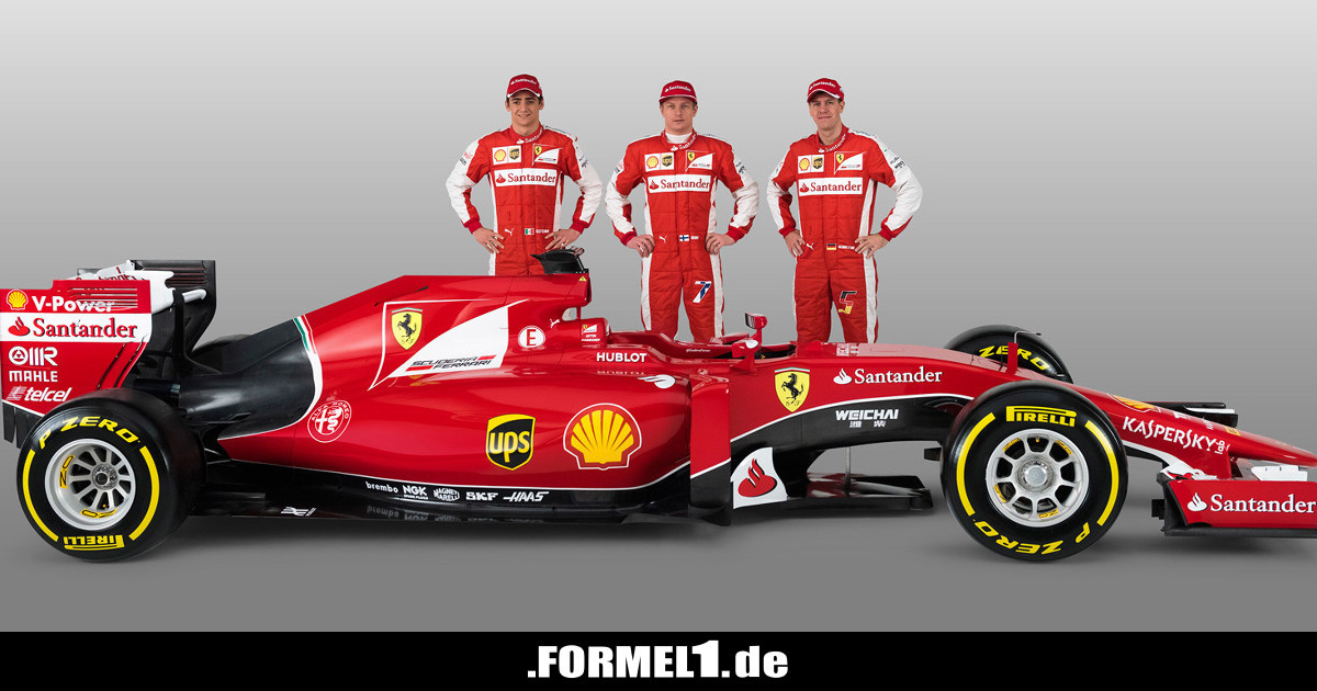 formel 1 live ticker neuer ferrari 2015 sch ner als 2014. Black Bedroom Furniture Sets. Home Design Ideas