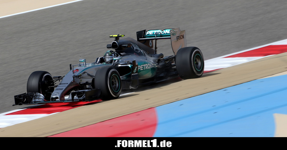 formel 1 training bahrain 2015 mercedes vor ferrari duo. Black Bedroom Furniture Sets. Home Design Ideas