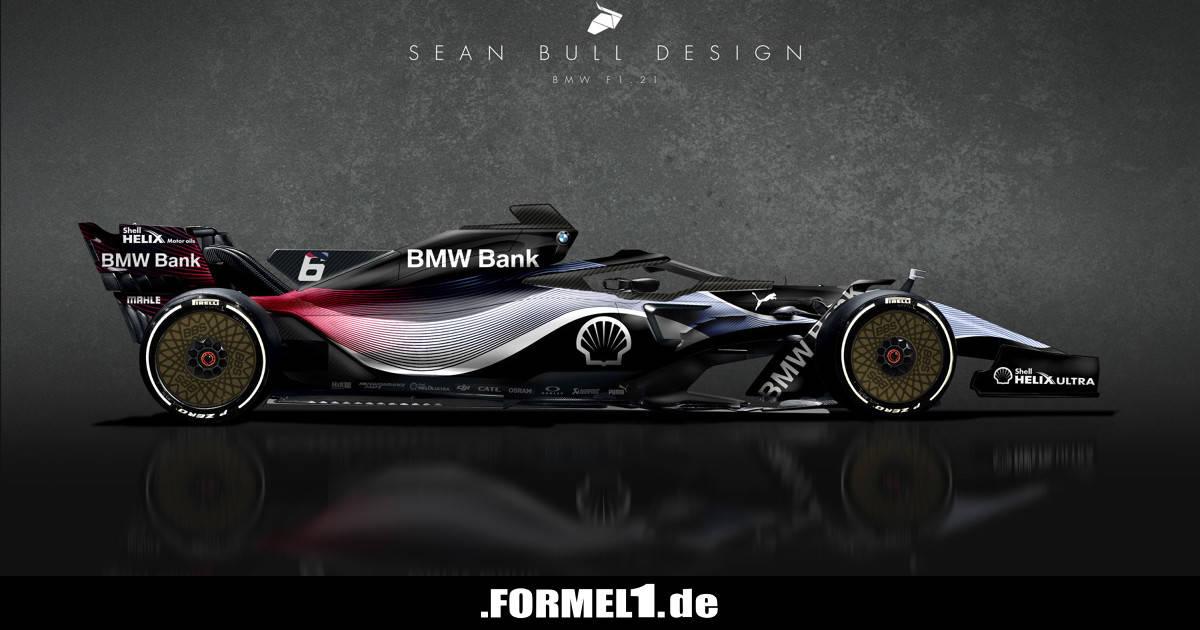 Vision: So könnte ein Formel-1-BMW für 2021 aussehen! - Formel1.de-F1