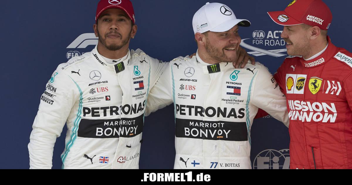 """Hamilton über Bart-Trend: """"Musste mir Schnauzer aufkleben ..."""" - Formel1.de-F1"""