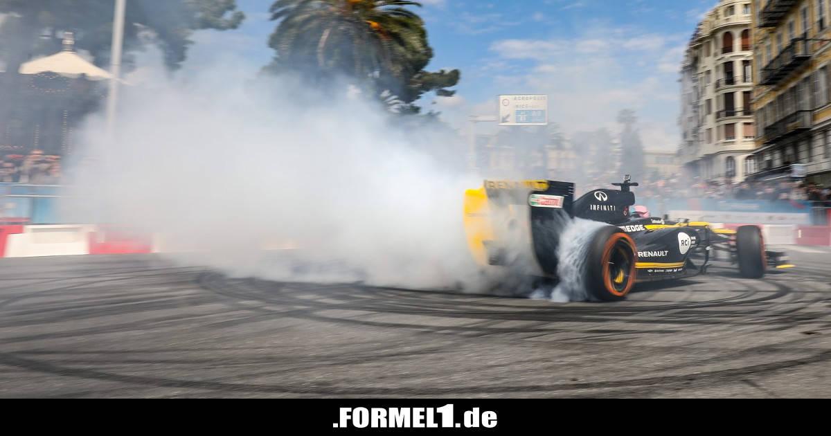 Daniel Ricciardo begeistert Fans auf Renault-Roadshow in Nizza - Formel1.de-F1