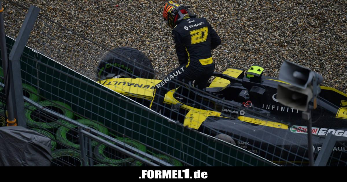 """Hülkenberg hadert weiter mit Ausfall: War auf Dragstrip """"nur noch Passagier"""" - Formel1.de-F1-News"""