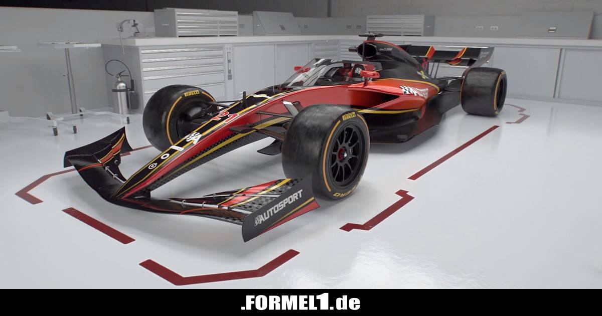 Formel-1-Design 2021 wird nachgewürzt: Flugzeugartige Flügel - Formel1.de-F1-News