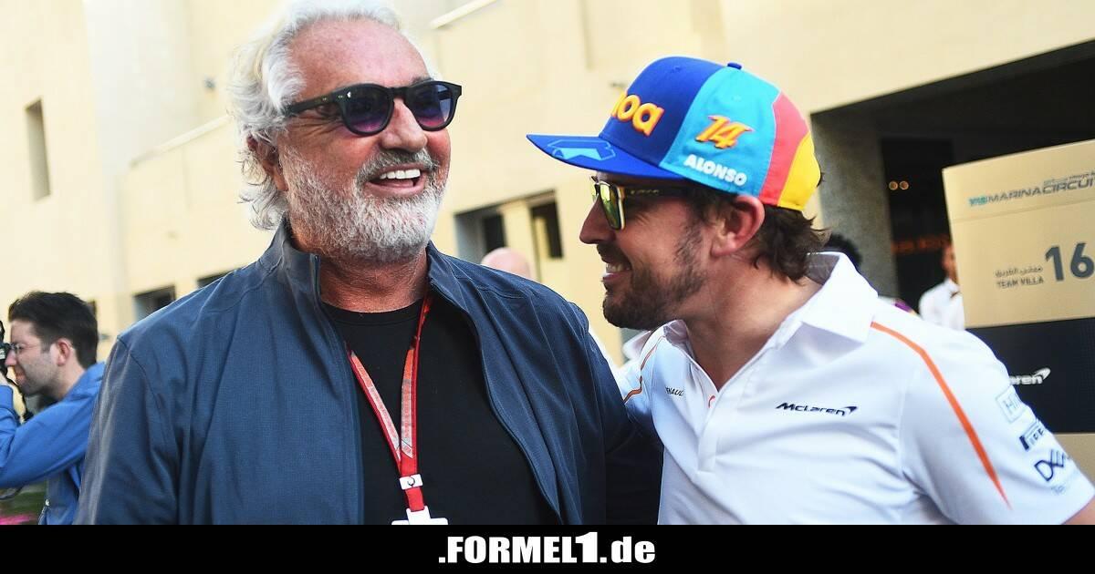 """""""Ein echter Teamplayer"""": Flavio Briatore nimmt Fernando Alonso in Schutz - Formel1.de-F1-News"""