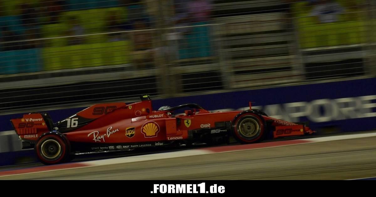 Formel-1-Live-Ticker: Wie Mercedes Ferrari in Singapur schlagen will! - Formel1.de-F1-News