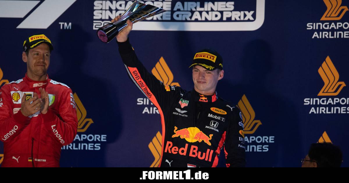 """Red Bull schafft Schadensbegrenzung mit P3: """"Das ist ein Weckruf"""" - Formel1.de-F1-News"""