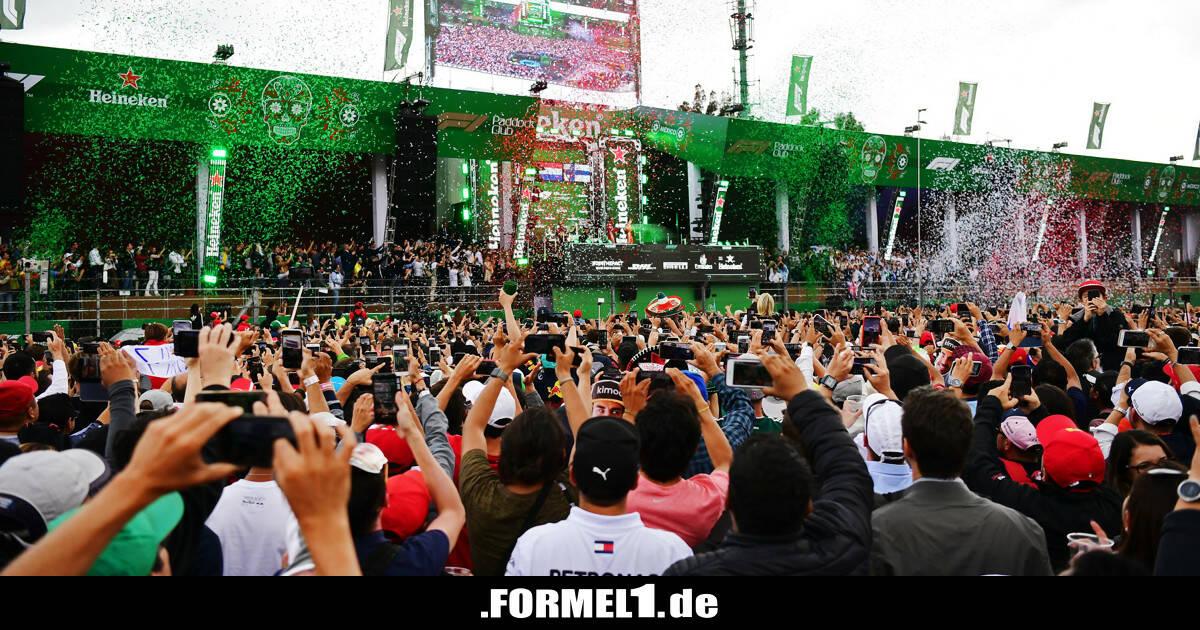 TV-Übertragung F1 Mexiko: Übersicht, Zeitplan & Live-Streams - Formel1.de-F1-News
