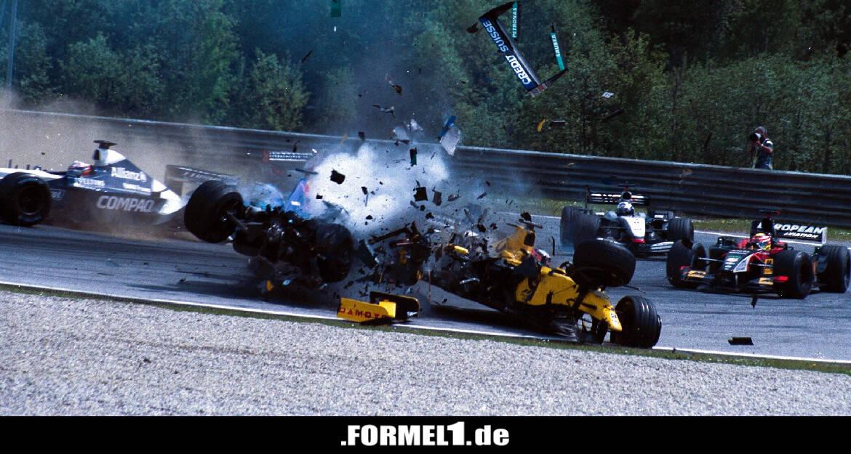 """""""Einschlag wie ein Meteor"""": Sato über Heidfeld-Crash in Spielberg 2002 - Formel1.de-F1-News"""