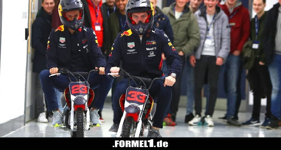 Highlights des Tages: Red-Bull-Duo macht auf Mopeds die Fabrik unsicher - Formel1.de-F1-News