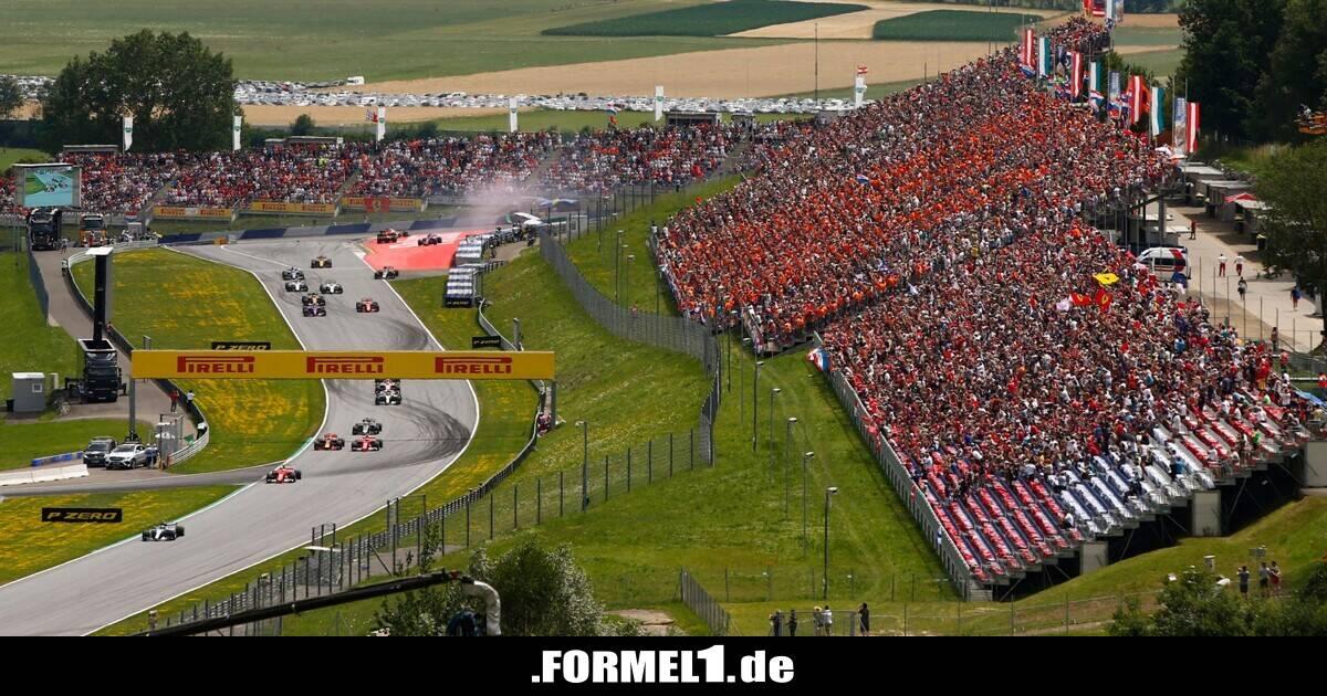 Formel 1 Spielberg Tickets