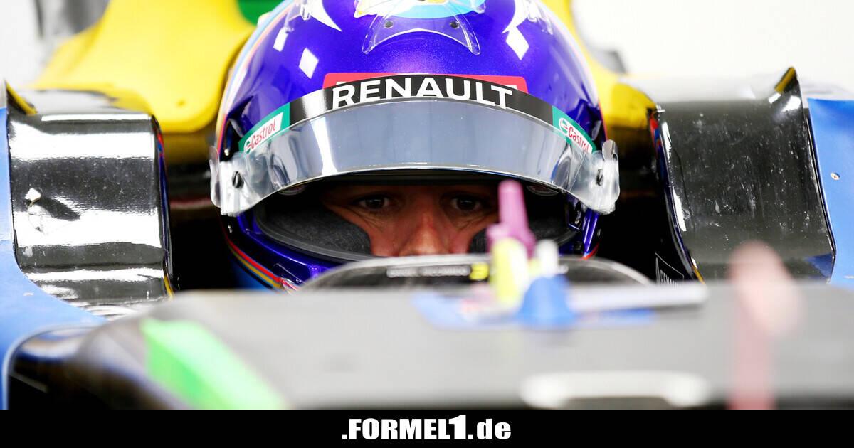 Renault plant Test für Fernando Alonso im Rahmen...