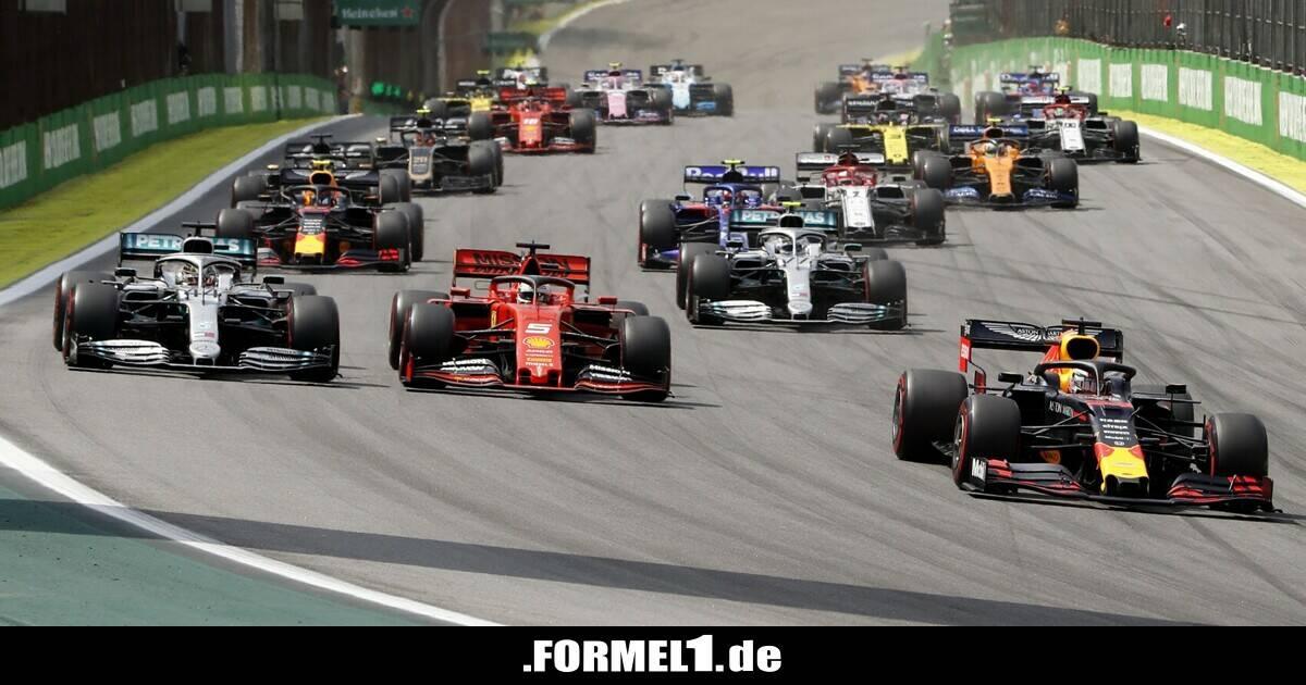 Formel 1 Sao Paulo 2021