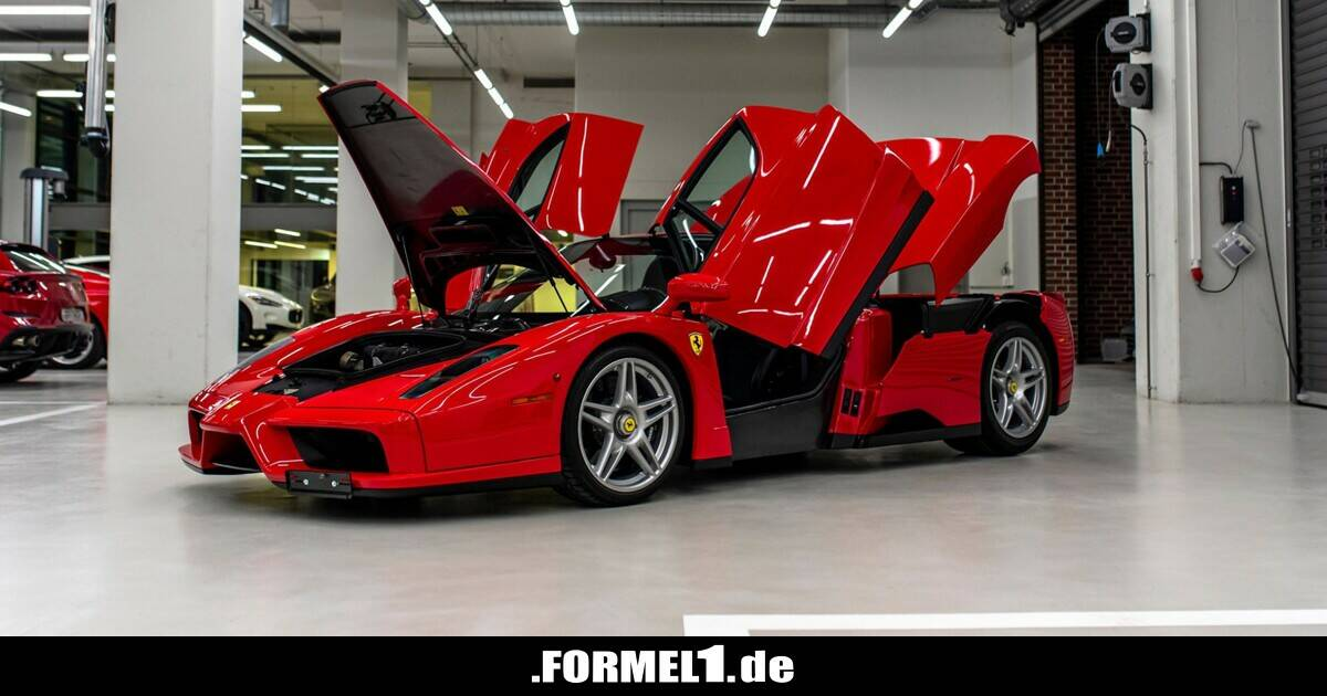 Von Ferrari bis BMW: Sebastian Vettel verkauft Autos aus Privatsammlung - Formel1.de-F1-News - Formel1.de