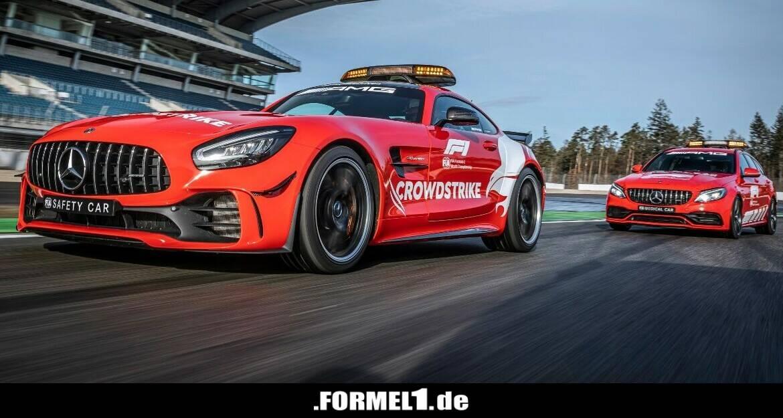 Safety- und Medical-Cars werden in der Formel-1-Saison 2021 rot und grün! - Formel1.de-F1-News - Formel1.de