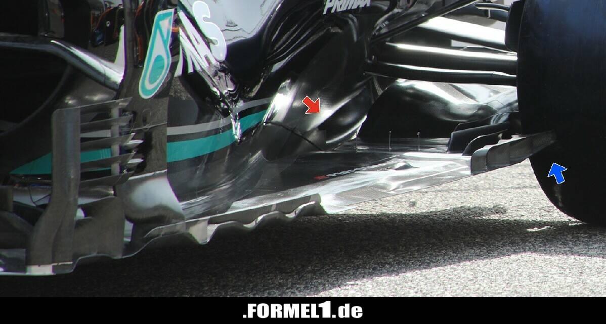 Split-Unterboden am W12! Ist Mercedes schon wieder allen voraus? - Formel1.de-F1-News - Formel1.de