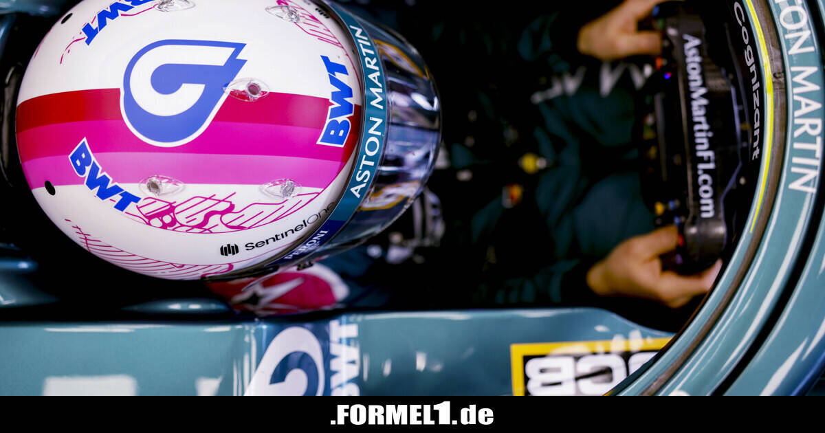 Wie es dazu kam, dass Sebastian Vettels Helm jetzt rosa ist - Formel1.de-F1-News - Formel1.de