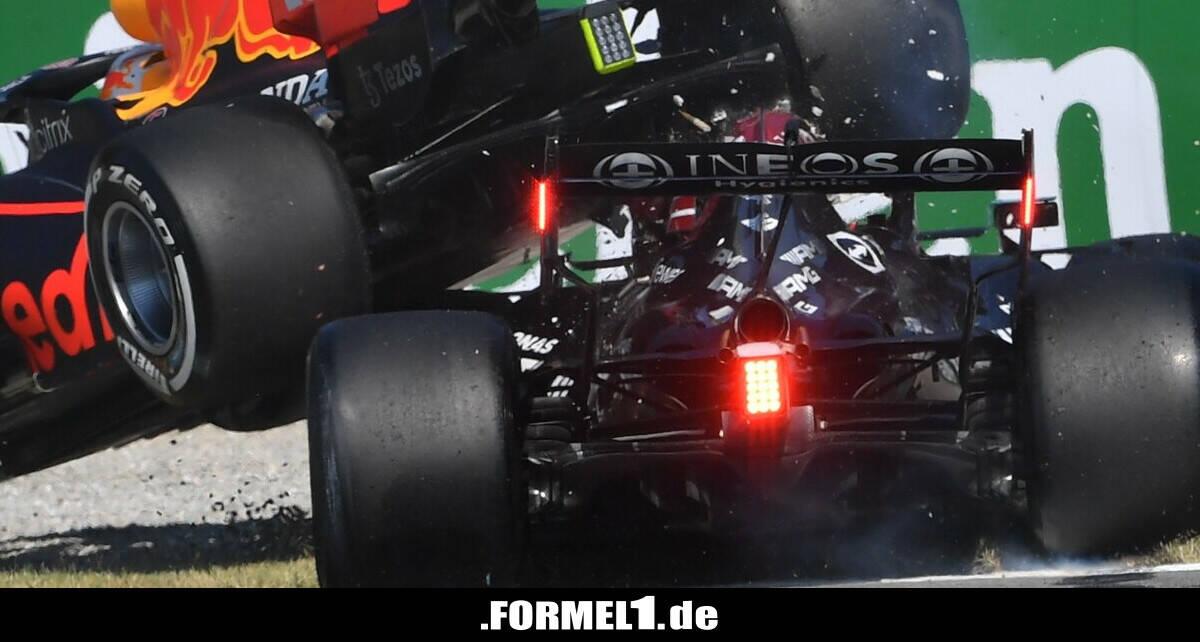"""Forscher sagt über Monza-Crash: """"Hamilton hatte kein Glück"""""""