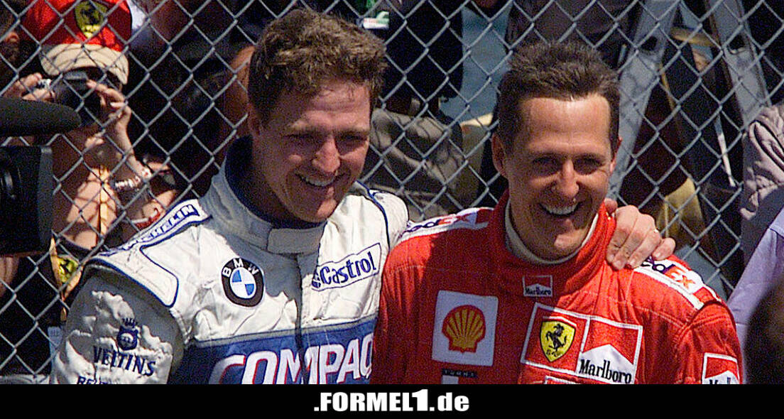 """Ralf Schumacher: """"Waren damals so bekannt wie Helmut Kohl"""""""