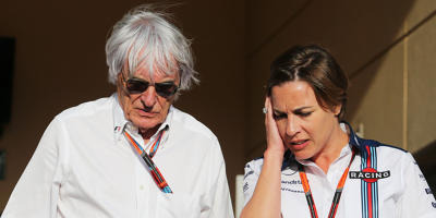 Bernie Ecclestone, Claire Williams