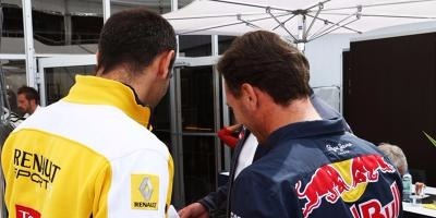 Cyril Abiteboul, Christian Horner