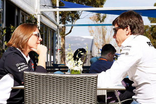Claire Williams, Toto Wolff