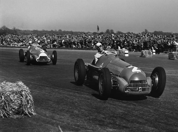 1950 Ein Gro 223 Britannien Grand Prix F 252 R Die Ewigkeit
