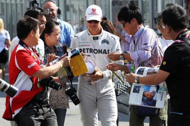 Foto von Michael Schumacher für 1 Million angeboten