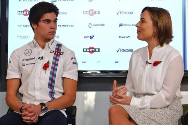 Lance Stroll, Claire Williams