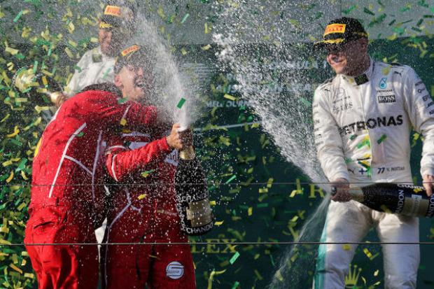 Motorsport | Vettel im Formel-1-Abschlusstraining von Melbourne vorn