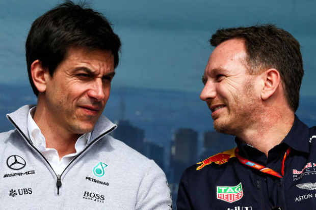 Toto Wolff, Christian Horner