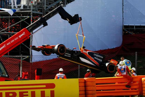 Erneuter Horror-Crash beim Indy 500