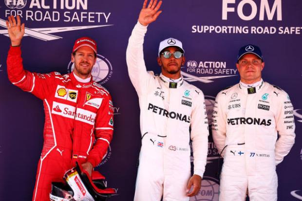 Vettel-Fehler verhindert Pole in Spanien - Hamilton vorn