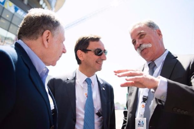 Jean Todt, Chase Carey, Pierre Fillon