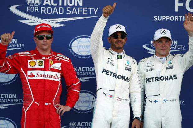 Formel-1-Qualifying | Hamilton holt Baku-Pole - Vettel auf Platz vier