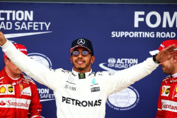 Hamilton knapp vor Vettel und Bottas