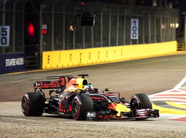 Ricciardo auch im zweiten Singapur- Training voran