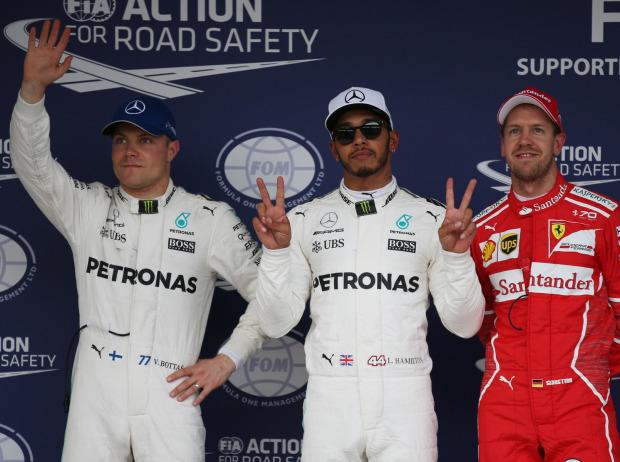 Vettel mit erster Japan-Bestzeit vor Hamilton