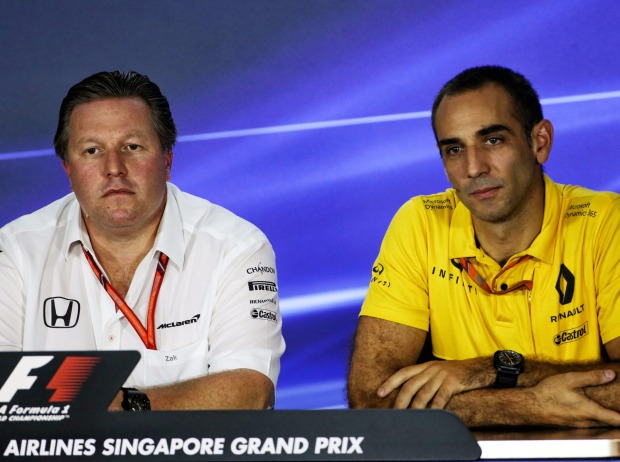 Zak Brown, Cyril Abiteboul