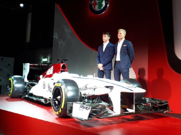 Alfa Romeo Und Sauber 2018 Mit Leclerc Und Ericsson Formel1de