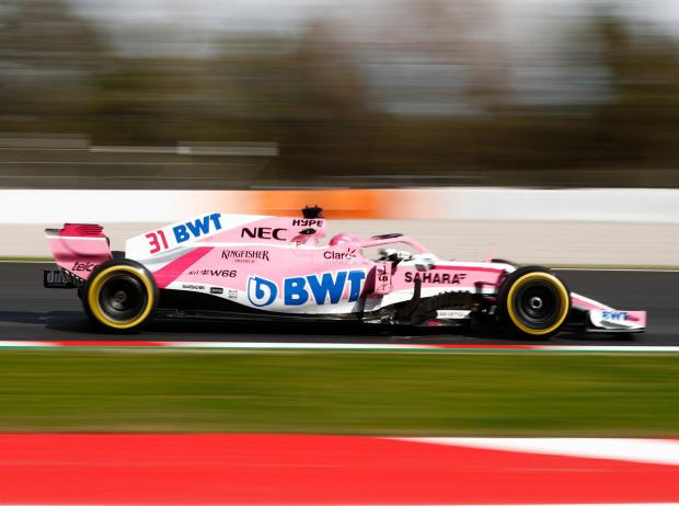 Force India Melbourne Update Soll Halbe Sekunde Bringen Formel1