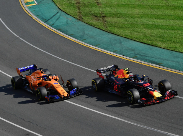 Fernando Alonso, Max Verstappen