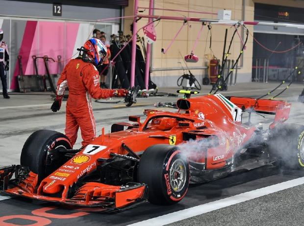 Beinbruch beim Boxenstopp - Ferrari muss Strafe zahlen