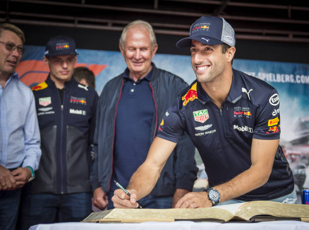 warum daniel ricciardo 2019 doch bei red bull bleibt. Black Bedroom Furniture Sets. Home Design Ideas