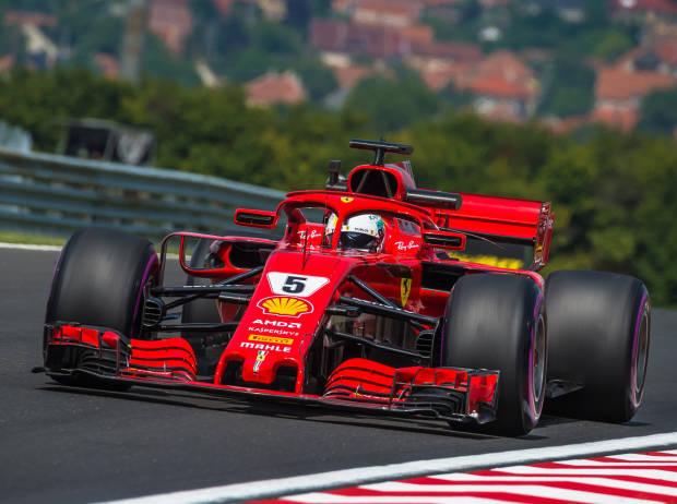 Formel 1 Ungarn 2018 Ferrari Nur Knapp Vor Mercedes Formel1de F1