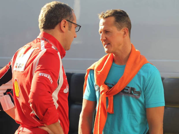 Stefano Domenicali, Michael Schumacher