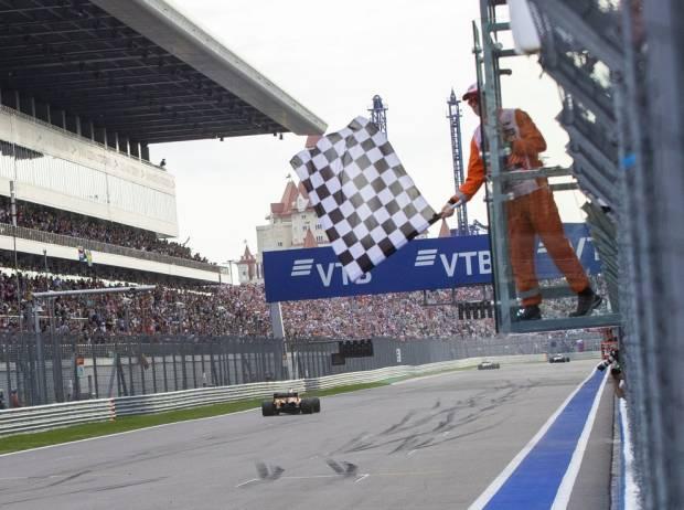Sebastian Vettel, Zielflagge