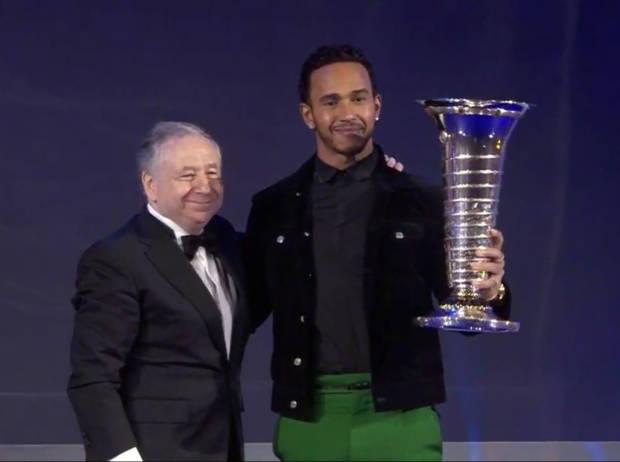 Jean Todt und Lewis Hamilton