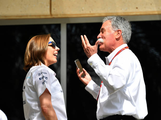 Claire Williams, Chase Carey