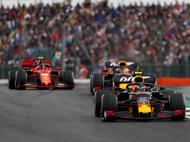 Pierre Gasly, Max Verstappen, Charles Leclerc